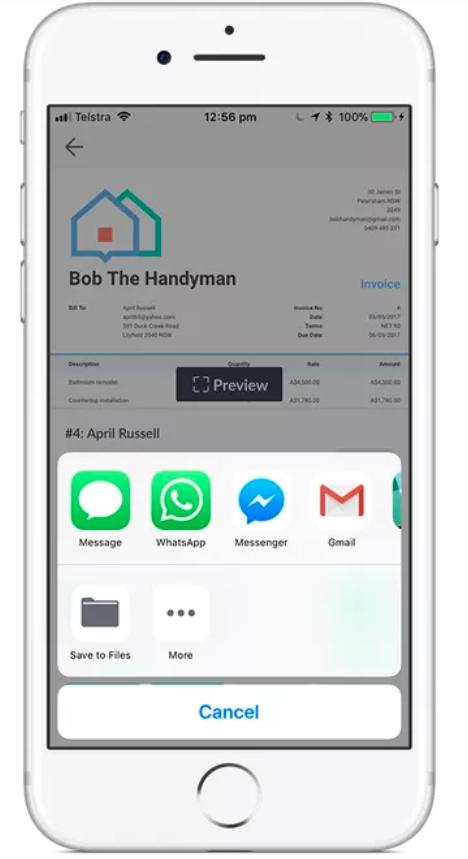 enviar facturas por sms o aplicaciones de mensajería asistencia de